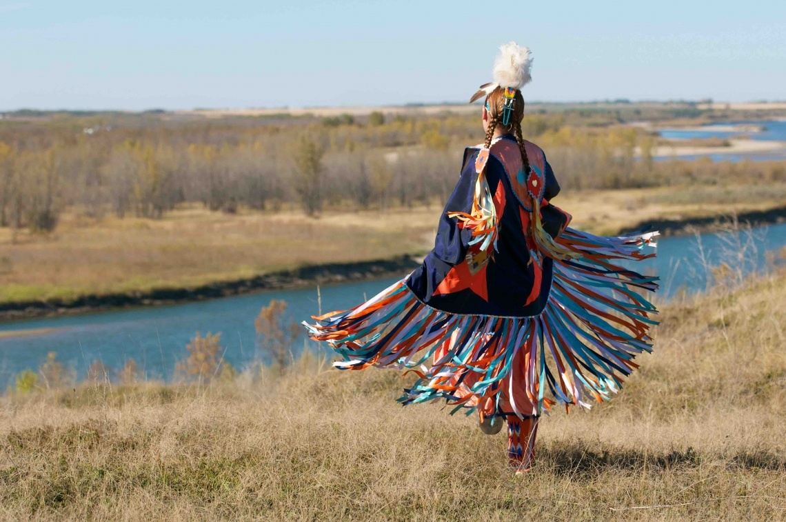 Indigenous dancer